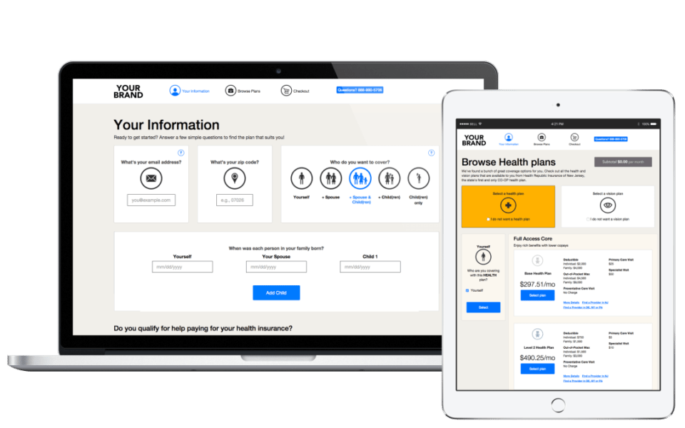 NY Technology Startup Launches Online Shopping Product for Healthcare Industry